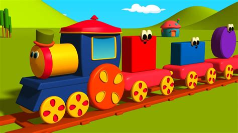 Make Coloring Pages From Photos by Shapes Train For Toddlers Bob The Train Cartoons