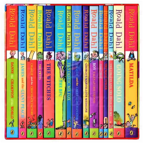 pictures of roald dahl books textbooks and books t b roald dahl collection phizz