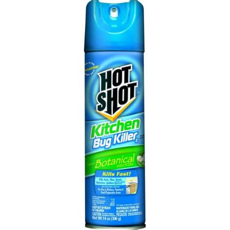 does hot shot bed bug spray work hot shot kitchen bug killer botanical insecticide spray