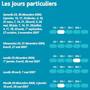 Calendrier Zone Sncf Calendrier Sncf Des Zones Bleues Et Blanches