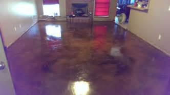 stained concrete floor colors cleaning and staining indoor concrete floors direct