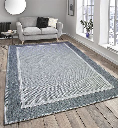 lounge rugs sale new flatweave border pattern hardwearing indoor outdoor rug beige brown grey ebay