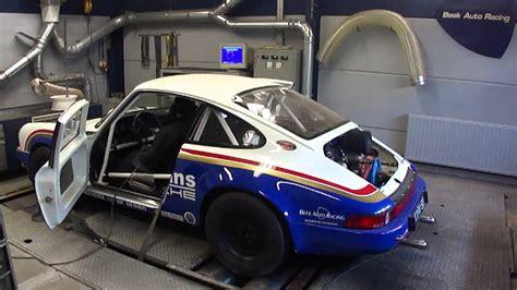 rothmans porsche 911 porsche 911 sc rs rothmans dyno run at beek auto