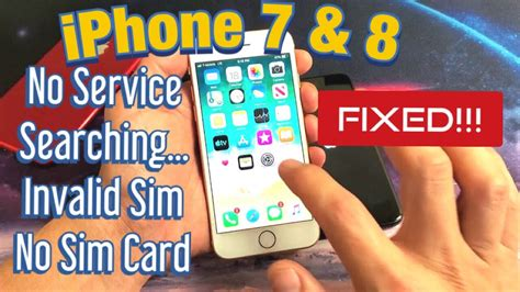 iphone    service searching invalid sim