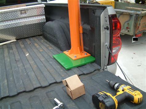 truck bed crane haul master truck crane autos post