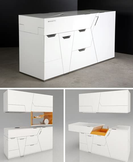 Kitchen Cabinets In A Box | kitchen in a box all in one island cabinet sink design