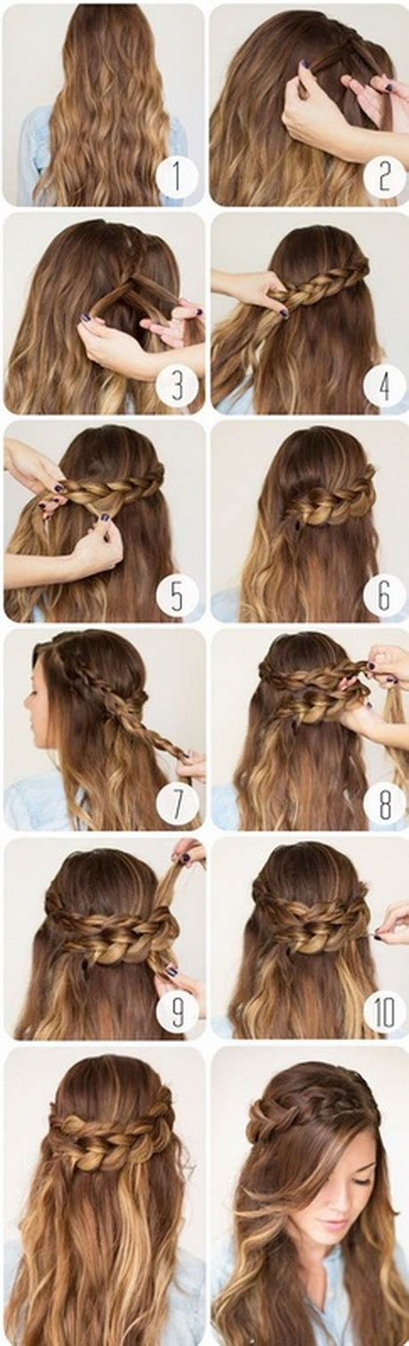 easy hairstyles for school with hair 10 hairstyles for school