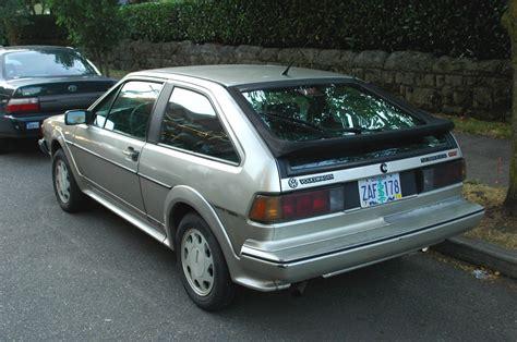 how make cars 1988 volkswagen scirocco parking old parked cars 1988 volkswagen 16v scirocco