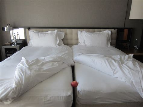2 beds in 1 i don t understand european hotel twin beds one mile at