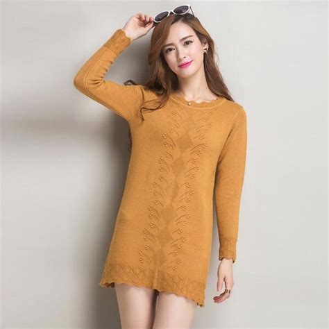 Sweater Dresses by Sweaters Dress Pullovers 2017 New Winter Warm