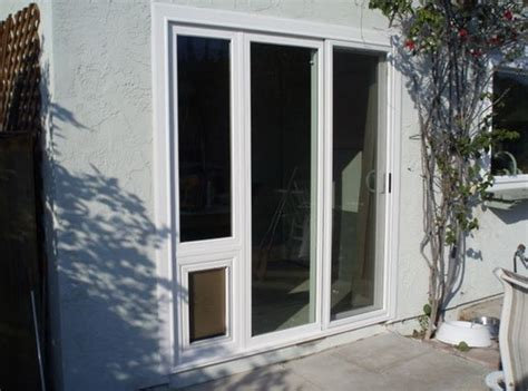 Glass Doggie Doors Glass Door 20 Ways To Make To Make The Of Your Pets Easier And Safety Interior