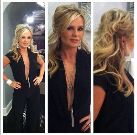 what type of hair extensions do tamara wear does tamra barney wear hair extensions does tamra barney