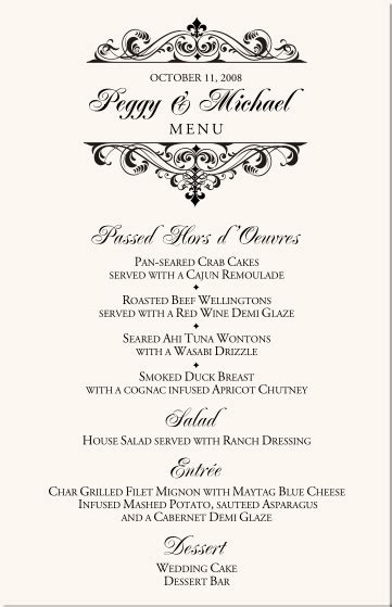 fancy restaurant menu template the gallery for gt fancy restaurant menu template