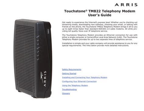 Arris Tm722 Modem Lights Meaning Decoratingspecial Com