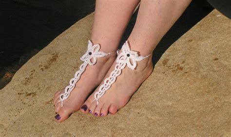 barefoot sandals pattern crochet 24ladiesshopping crochet barefoot sandals