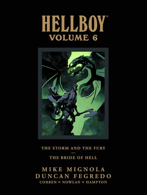 libro hellboy in hell library feb130012 hellboy library hc vol 06 storm fury bride hell previews world