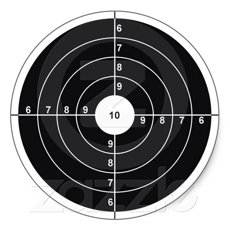 printable 8 inch targets the gallery for gt printable shooting targets 8 5 x 11