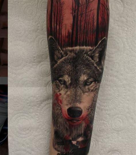 3d tattoo wolf designs 55 best 3d tattoos designs for men and women 2017