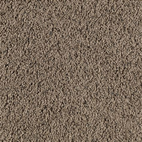 shop smartstrand bartley mellow taupe frieze indoor carpet at lowes