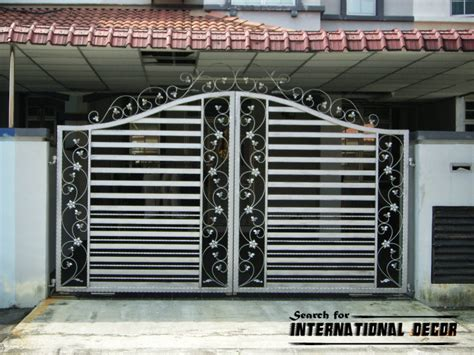 option of gate designs for home and garage top