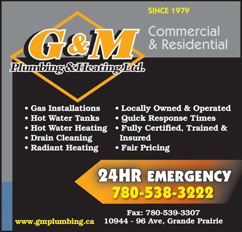 G M Plumbing by G M Plumbing Heating Ltd Grande Prairie Ab 8620
