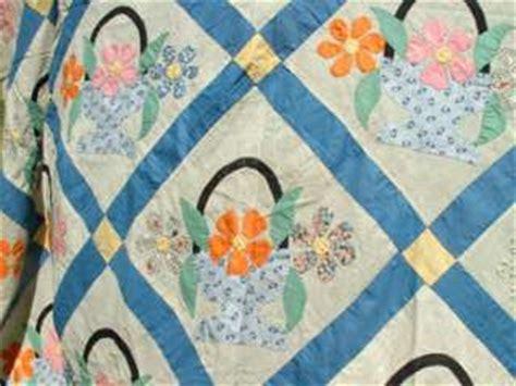 vintage flower pattern quilt flower basket applique quilt pattern appliq patterns