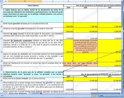 calculo retenciones colombia tabla de retefuente 2016 colombia actualicese black