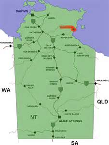 file numbulwar location map in northern territory png