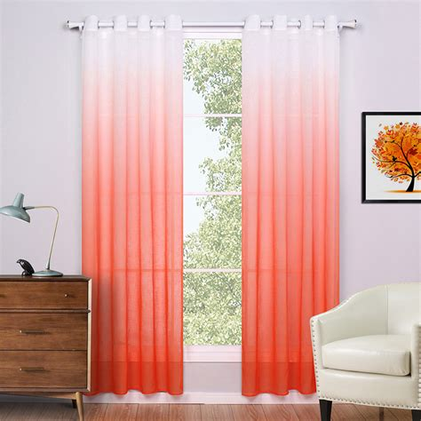 Sheer Curtains Orange Aliexpress Buy Sheer Curtains For Living Room Modern European Style Curtains Printed