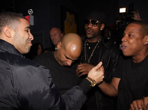 the history of drake and jay z s relationship what went