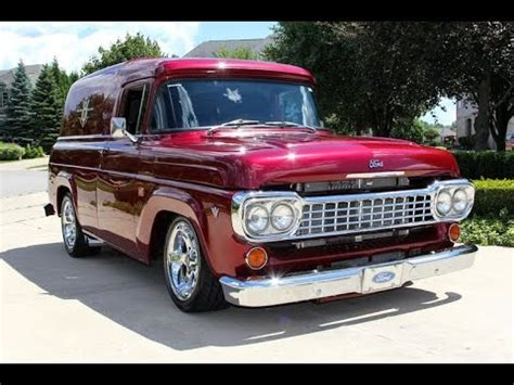 1958 ford truck 1958 ford f100 panel truck for sale