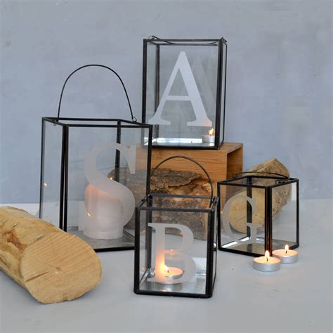 initial candle holder by alphs alphabet interiors