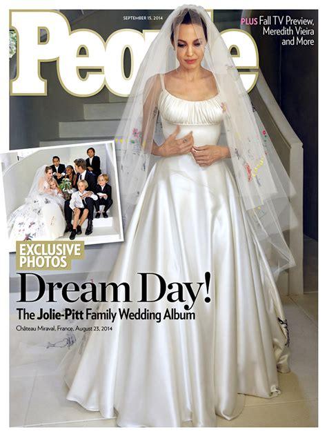 Brad Took Secret Vows by Photos From Brad Pitt S Wedding