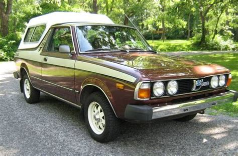 subaru brat for sale craigslist all original 15k mile 1980 subaru brat 4 215 4 bring a trailer