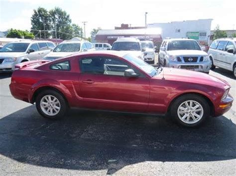 mustang for sale ottawa 2005 ford mustang for sale ohio carsforsale