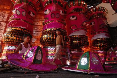 dussehra triumphs with good over evil riding the elephant