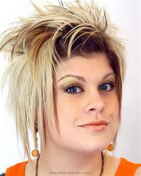wild spiky hairstyles crazy short hairstyles for women