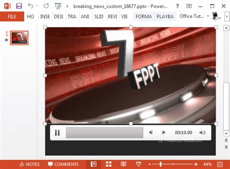 breaking news powerpoint template breaking news video background fppt