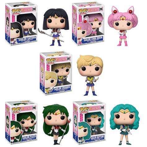 Sale Funko Pop Animation Sailor Moon Sailor Neptune 298 funko pop anime sailor moon s2 vinyl figures set of 5