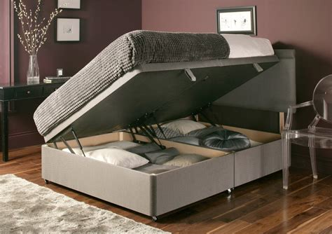 double ottoman bed harmony 1000 double ottoman bed by healthopaedic choice