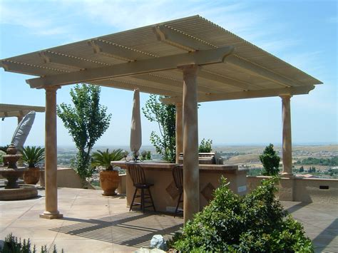 Patio Cover Post Footing by Free Standing Patio Cover Footings Modern Patio Outdoor