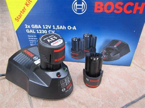 Bosch 12v 1 5ah Battery bosch 12v 1 5ah battery starter pack kits my power tools