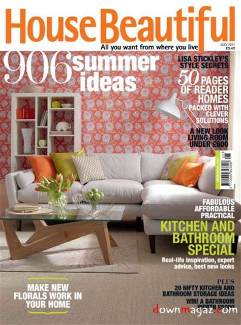 beautiful home design magazines house beautiful may 2011 uk 187 download pdf magazines