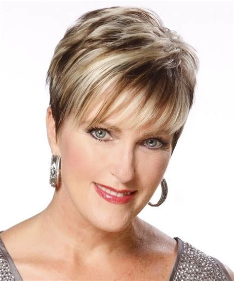 short haircuts with bangs for women over 40 35 pretty hairstyles for women over 50 shake up your