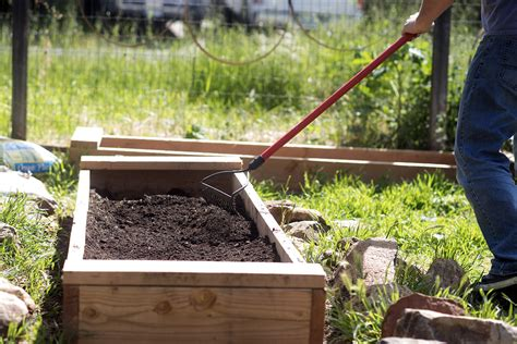 raised garden bed soil raised bed gardening soil preparation tips from roofing