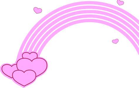 Rainbow Pink rainbow clip at clker vector clip