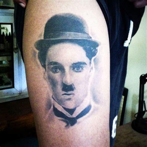charlie tattoo chaplin artist by bima 4