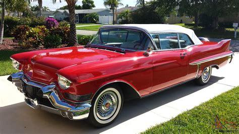 57 Cadillac Convertible by 1957 Cadillac Convertible
