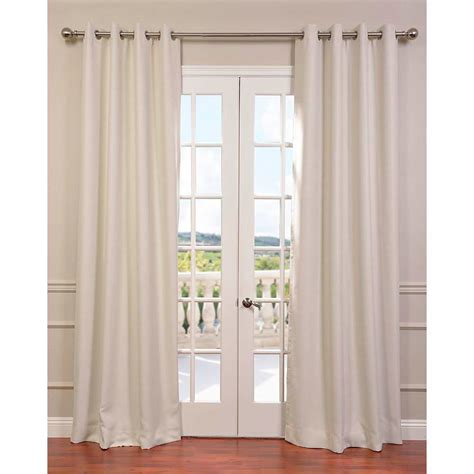 108 in curtain panels exclusive fabrics furnishings cottage white bellino