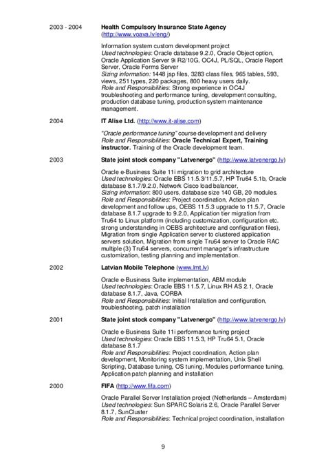 chicago discoverer oracle resume 28 images 10 best of